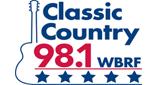 lassic Country 98.1 - WBRF - FM